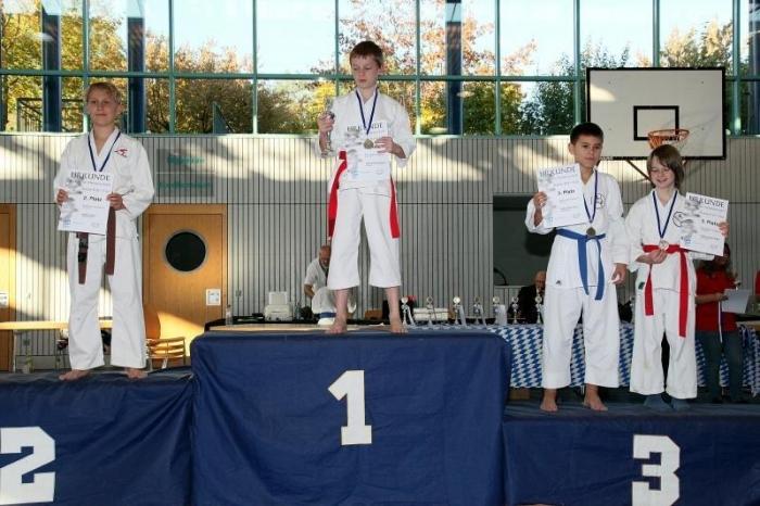 Siegerehrung Kidscup 2011