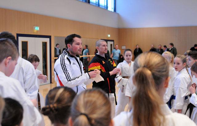 Kata-T-Kader-Sichtung und Bundeskadertraining in Frankfurt